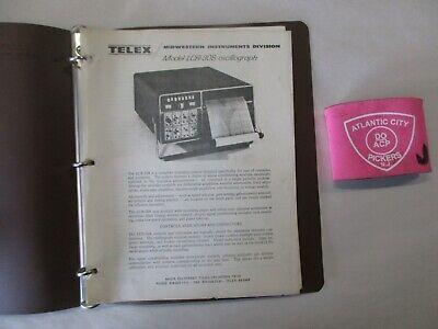 Telex Model Lcr-308 Oscillograph Manual Addendum