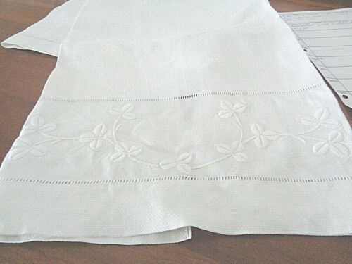 Very Large Very Special 100% Linen Antique Bath Towel