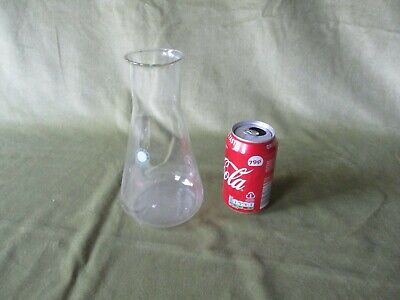 750ml WIDE MOUTHED CONICAL FLASK, VINTAGE, PYREX, MADE IN ENGLAND