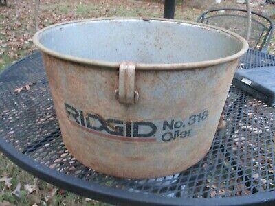Ridgid 318 Oiler Bucket