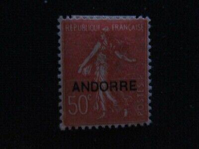 Andorra #12 Mint Never Hinged WDWPhilatelic (I7M1)