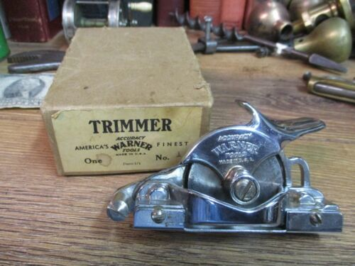 Vintage trimmer Accuracy Warner Tools Wall PAPER Coverings Trimmer No10 made USA