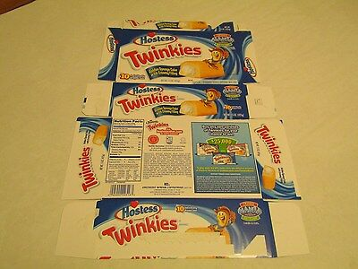 Hostess  Interstate Brands  Twinkies Mania Empty Collectible Box