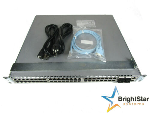 Arista DCS-7050T-64-R Switch w/ 48x1/10GbE & 4x40GbE QSFP+ Dual Rear Airflow
