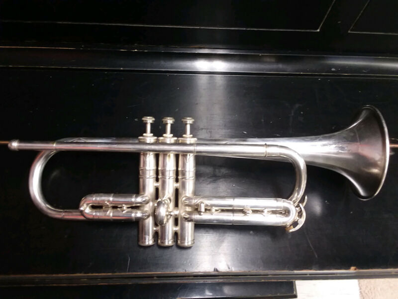 Vintage Conn 80A C Cornet (1922), excellent compression and accessories