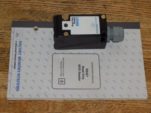 ESCORT MEMORY SYSTEMS RS427-10 RF READER READ ONLY BLOCK