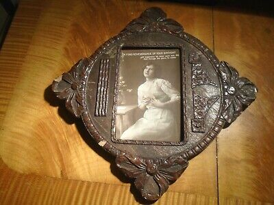 ANTIQUE,ART-NOUVEAU,STYLE PHOTOGRAPH  FRAME