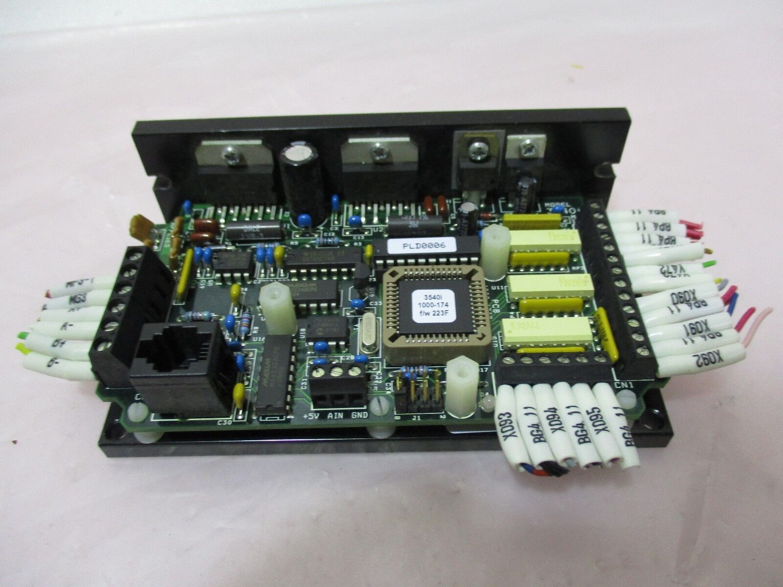 Appiled Motion Products 3540I Step Motor Driver, 420658