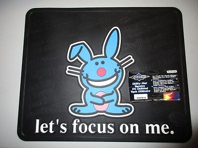 Creative Image Happy Bunny Utility Mat Let's Focus On Me Pet Boat Car RV Garage