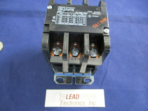 NEW TYCO ELECTRONICS P40P42D12P1-24 CONTACTOR 3 POLE 24VDC 40A INDUCTIVE 600V