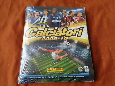 ALBUM FIGURINE PANINI CALCIATORI 2009-10 EDIZIONE ITALIA SIGILLATO SEALED