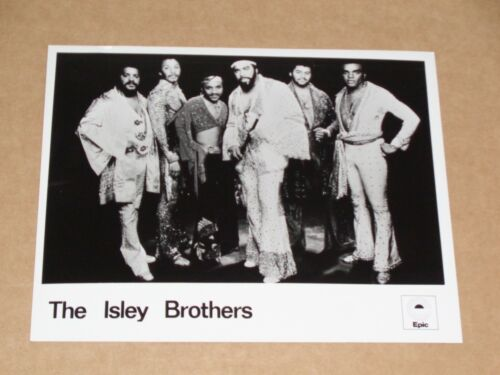 Isley Brothers 10 x 8 1974 Epic Records Publicity Photo
