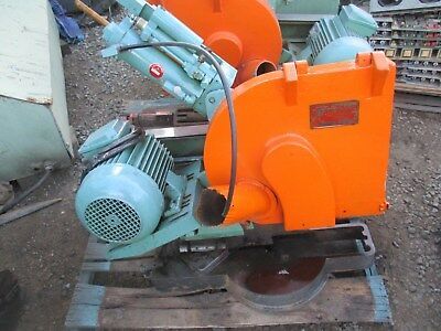 Pistorius Sawing Head Model Dc16abce For Wood Or Alpulled From Work Machine