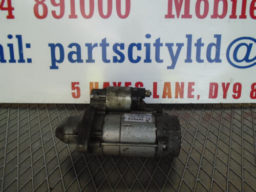 LEXUS IS 220D 2.2 DIESEL 6 SPEED MANUAL 2008 STARTER MOTOR  6C28100-0R010