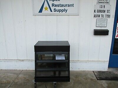 Used 4 Months Nemco 6470-spw Humidified Display Warmer Deli 5238
