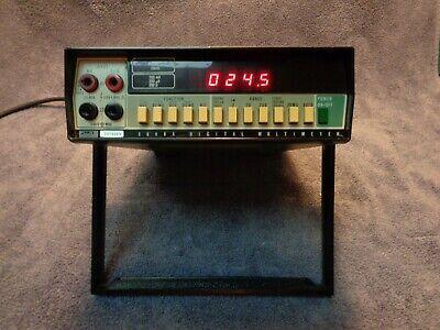 Fluke 8600a Digital Multimeter With Power Cord
