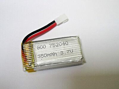 3.7V 350mAh Battery Husban H107 JXD 385 DFD F180 / i Drone i4W / i4S DRONE