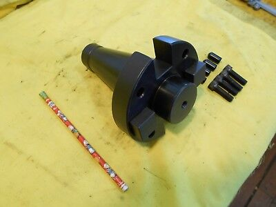 Valenite Nmtb 50 Taper X 2 Face Mill Arbor Milling Machine Tool Holder 50m-200