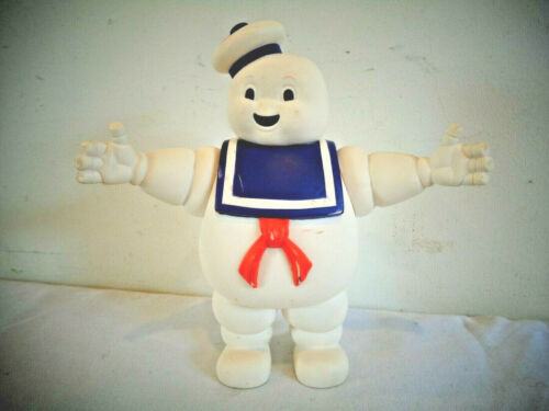 VINTAGE GHOSTBUSTERS STAY PUFT MARSHMALLOW MAN FIGURE 1984 COLUMBIA PICTURES