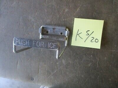 Used Push For Ice Lever For Cornelius Soda Fountain Machine Ed-xxx-bch Series