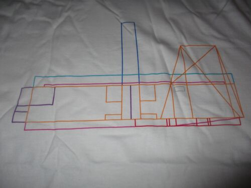 NWT PETER SAVILLE Tate Modern Shirt XL New Order Joy Division Factory Records