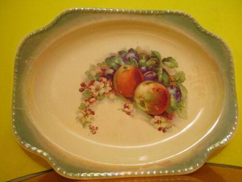 Harker Pottery Vegetable Decal Platter