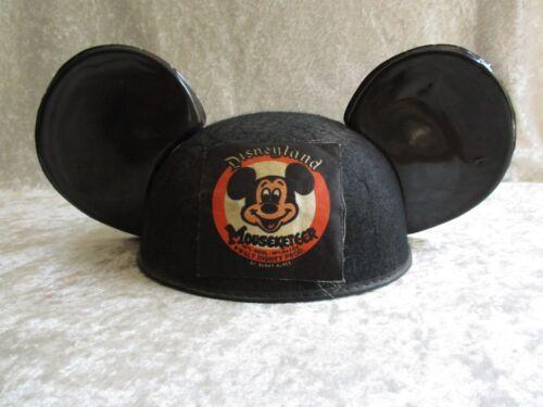 """HTF Vintage Disneyland Mouseketeer Wool Cap w/Ears, by Benay Albee for """"Larry"""""""