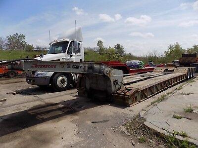 1999 Interstate 55-ton Lowboy Trailer Tri Axle Air Ride