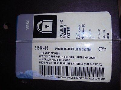 Pager-kit (NEW HARLEY-DAVIDSON VRSC VROD SECURITY SYSTEM PAGER KIT P/N 91664-03 )