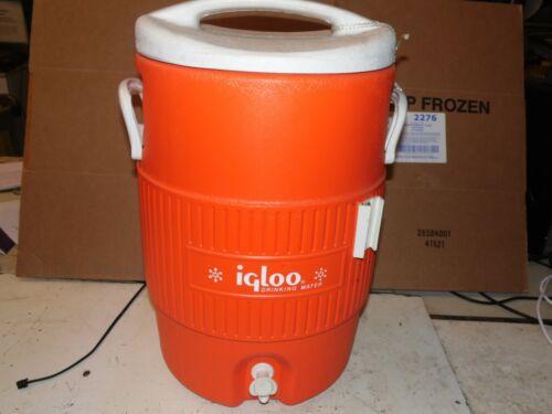Igloo 5 Gallon Orange  Water Jug / Cooler