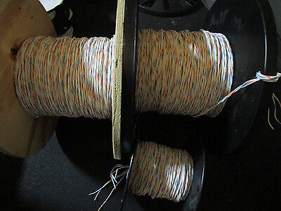 M27500-20rc3u00 Mil Spec Twisted 3 Conductor 20 Awg Wire 150ft. Feet