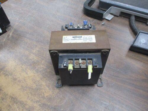 Micron ImperviTRAN Control Transformer B500PU1519JJ 500VA Pri: 240/480V 50/60Hz