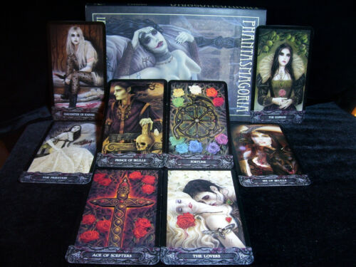 SEALED NEW ~ TAROT OF THE VAMPYRES CARDS & BOOK ORACLE GOTHIC ARTWORK VAMPIRES
