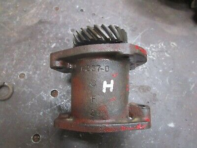 Ih Farmall H Sh Distributor Magneto Drive Assembly 6237-d Antique Tractor