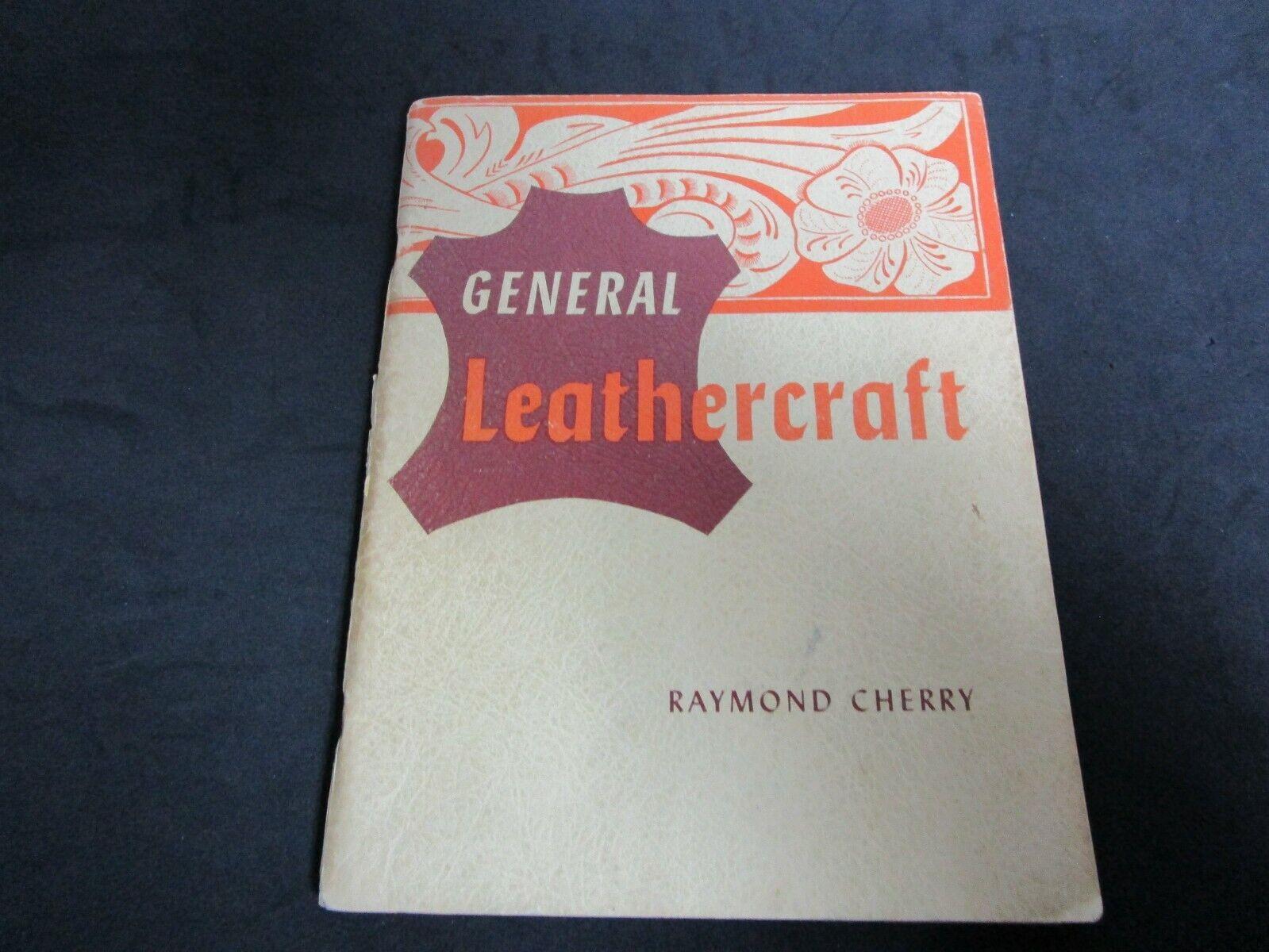 Vintage Leather General Leathercraft Book Copyright 1955. - $9.99