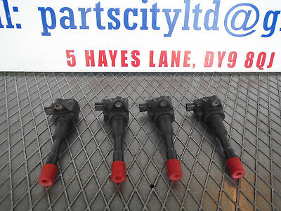 HONDA CIVIC 1.4 PETROL HYBRID AUTO 2008 4X IGNITION COIL PACK CM11-1087113C