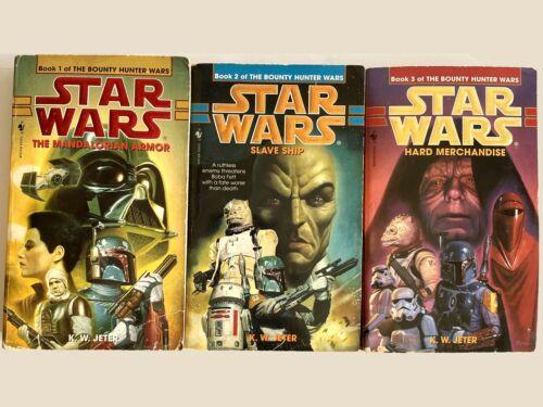Star Wars The Bounty Hunter Wars Trilogy by K. W. Jeter Complete PB Book Lot (3)