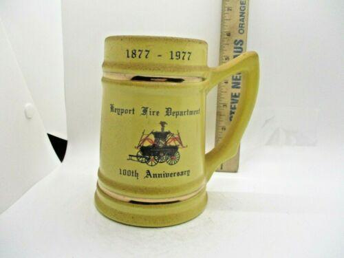 Keyport NJ 1977 Fire Dept Department Beer Stein Mug
