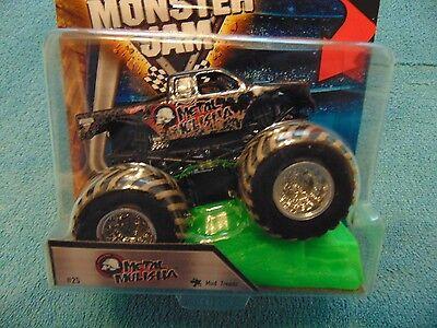 (METAL MULISHA HOT WHEELS Mud TRUCK 2016 Monster Jam Truck  with Stunt Ramp)