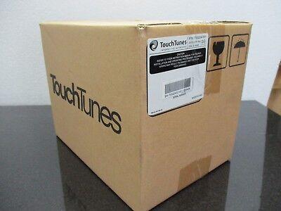 Touchtunes satellite speaker 700224-001 with wall bracket.