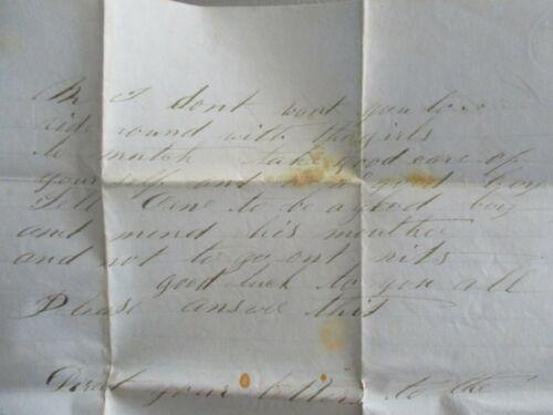 1859 Oregon House,Yuba Co.,California Signed Stephen Nelson letter