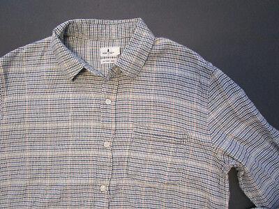 Mens Penny Stock Casual Shirt  New Gray Green Brown Button Down Shirt Sz S
