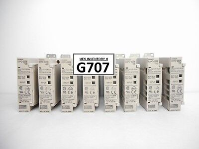 Omron G3pc-220b-vd Solid State Relay Reseller Lot Of 8 Used Working