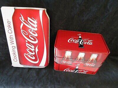 Coca Cola Coke Recipe Collection Tin Box 78 Recipes and Cooking with Coke Book