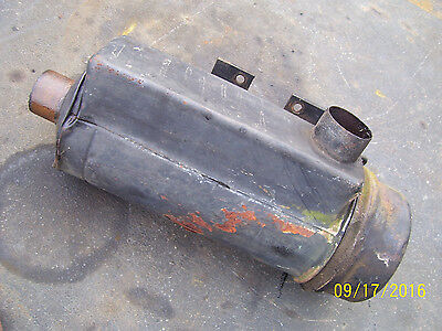 Vintage Oliver Super 88 Gas Tractor -air Cleaner Assembly - 1949