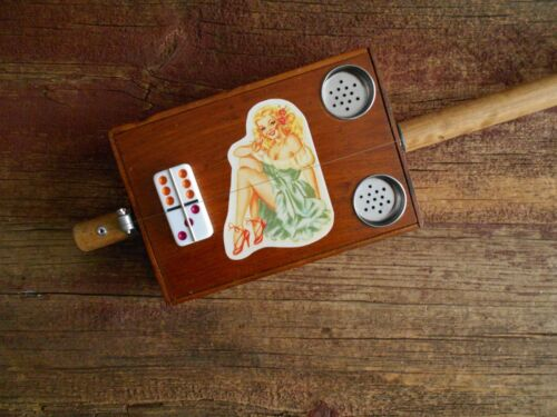 """Electric """"Vintage Pinup"""" Diddley Bow"""