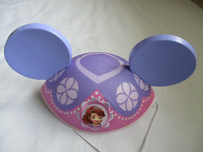 NWT Disney Store Princess Sofia The First Mickey Mouse Ear Hat Adult - Princess Hats