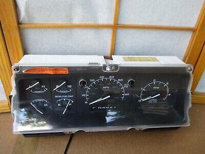 92-97 Ford F250 F350 Pickup Truck Powerstroke Diesel Gauge Cluster Speedometer