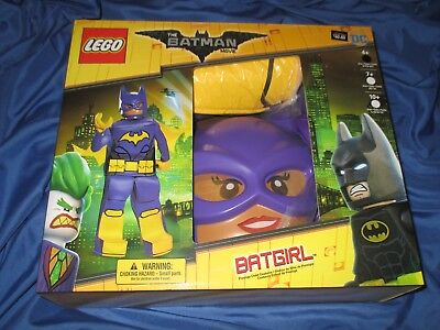 THE BATMAN MOVIE Lego Batgirl Halloween Costume Size M 7-8 by DISGUISE - The Lego Movie Halloween Costumes