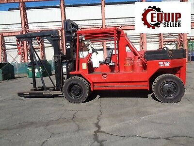 2012 Riggers Special Rs50 50000lb Forklift With Riggers Boom